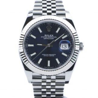 Rolex Datejust 41mm Blue Dial Jubilee 126334 Unworn 2019