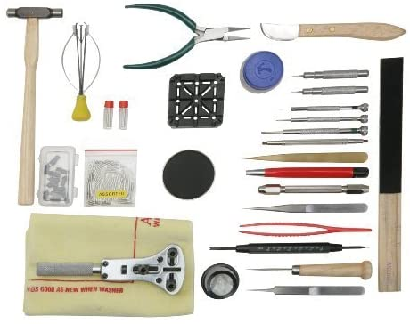 Optima 55-044 Portable Watch Repair and Battery Replacement Kit