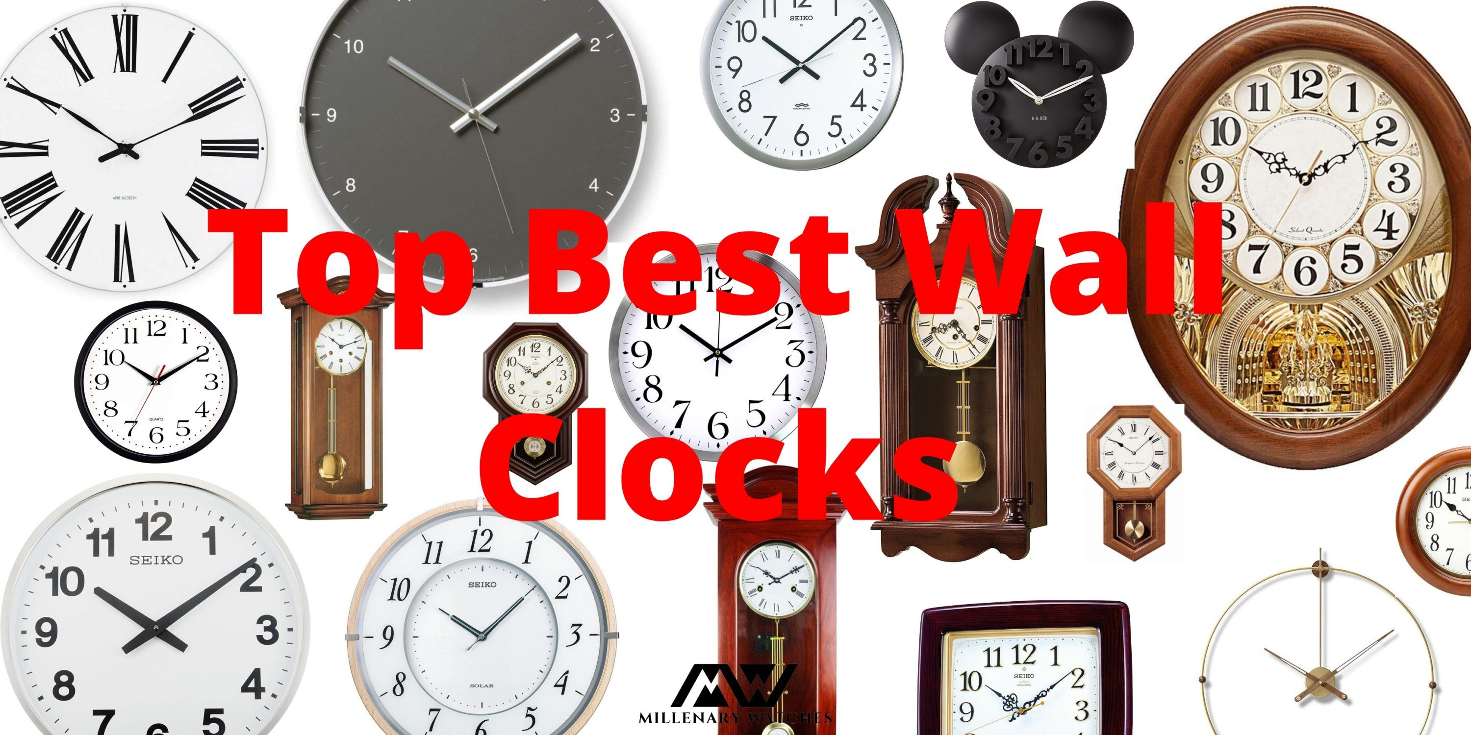 Top 18 Best Wall Clocks [Guide & List]