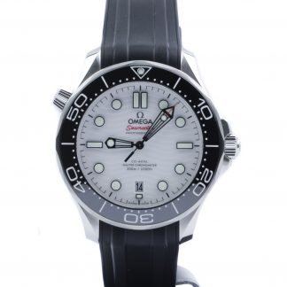 Omega Seamaster Diver 300M 42mm White Dial Rubber New 2020
