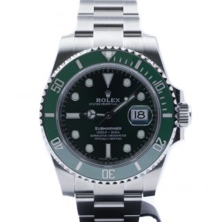 Rolex Submariner Ceramic Date Green Dial 116610LV Unworn 2020