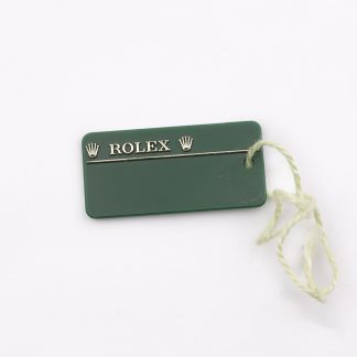Rolex green hangtag for sale