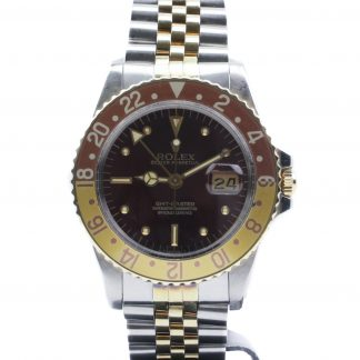 Rolex GMT-Master Tiger Eye Nipple Dial 16753 Fullset 1981