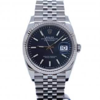 Rolex Datejust 36mm Jubilee Blue Dial 126234 Unworn 2020