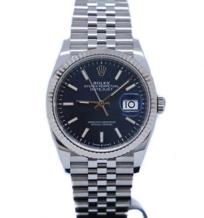 Rolex Datejust 36mm Jubilee Blue Dial 126234 Unworn 2020