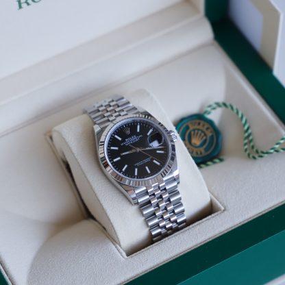 Rolex Datejust 36mm Jubilee Black Dial 126234 Unworn 2020