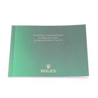 Rolex Submariner & Submariner Date Manual