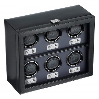 Six Watch Winder with Cover270702 Heritage Collection 2.1