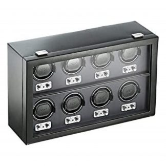 WOLF 270802 Heritage 8 Piece Watch Winder with Cover