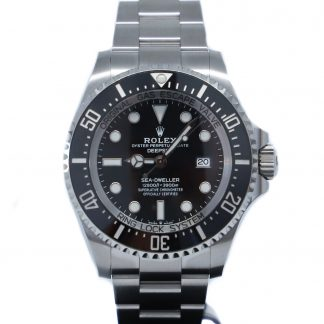 Rolex Deepsea Sea-Dweller Black Dial 126660 Unworn 2020