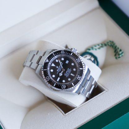 Rolex Deepsea Sea-Dweller Black Dial 126660 Unworn 2020