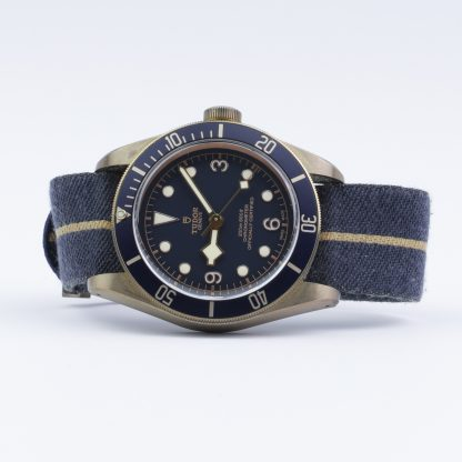 Tudor Black Bay Bronze Bucherer Blue Special Edition 79250BB 2020