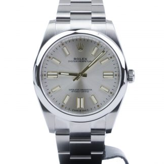 Rolex Oyster Perpetual 41 124300 Silver Dial 2020 Novelty