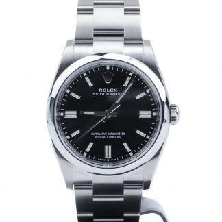 Rolex Oyster Perpetual 36 126000 Black Dial 2020 Novelty