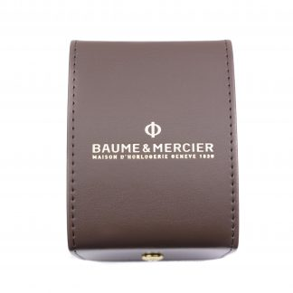 baume & Mercier leather case