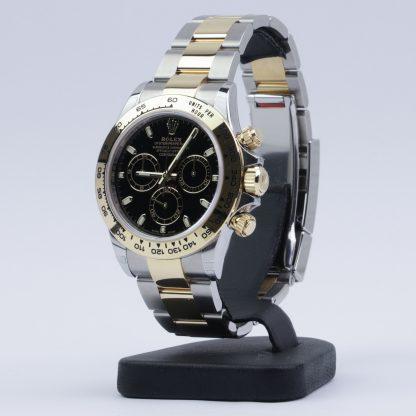 Rolex Daytona Two-Tone Black Dial 116503 Unworn 2020