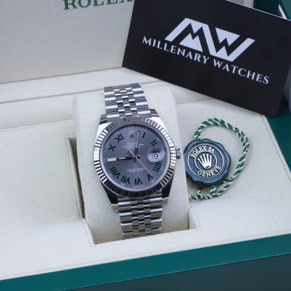 Rolex Datejust 41 126334 Wimbledon 2019