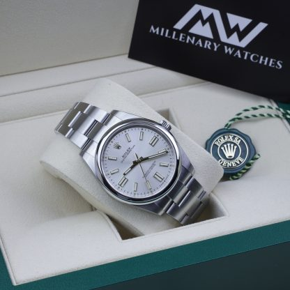 Rolex Oyster Perpetual 41 124300 Silver Dial 2020 Novelty Unworn