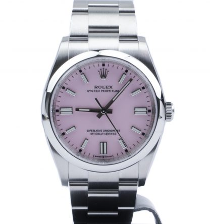 Rolex Oyster Perpetual 36 126000 Pink Dial Novelty Unworn 2020