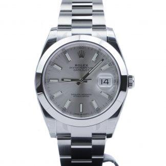 Rolex Datejust 41 126300 Unworn Silver Dial Oyster 2020