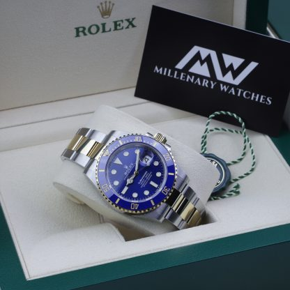 Rolex Submariner Two-Tone Blue Dial 126613LB Unworn 2020 Novelty