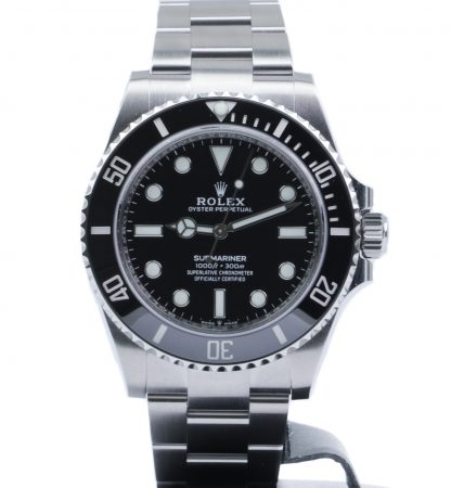 Rolex has officially presented the much-anticipated new Submariner no-date reference 124060, to replace the predecessor reference 114060. Remember, Rolex is about evolution, not revolution. In traditional Rolex fashion, Rolex has upgraded and refined the Submariner no-date, but the brand has stayed true to its design. The biggest change to the Submariner no-date involves changing to the new generation caliber 3230.