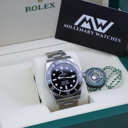 Rolex Submariner Black Dial 124060 Novelty 2020