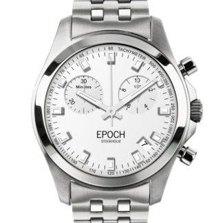 Epoch President Chronograph Scandinavian White