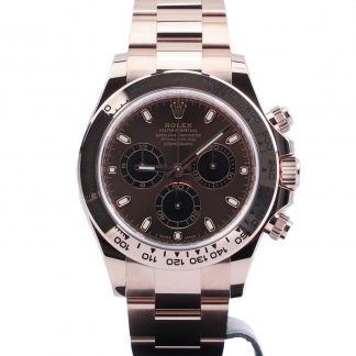 Rolex Daytona Cosmograph Everose Gold Chocolate Dial 116505 New 2021