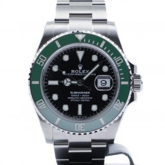 Rolex Submariner Date Black Dial Green Ceramic 126610LV Unworn 2020