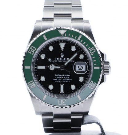 Rolex Submariner Date Black Dial Green Ceramic 126610LV Unworn 2020