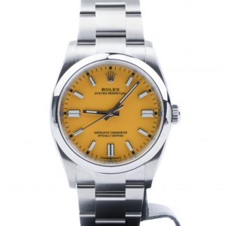Rolex Oyster Perpetual 36 126000 Yellow Dial 2020 Novelty