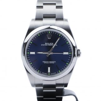 Rolex Oyster Perpetual 39MM Blue Dial 114300 2018