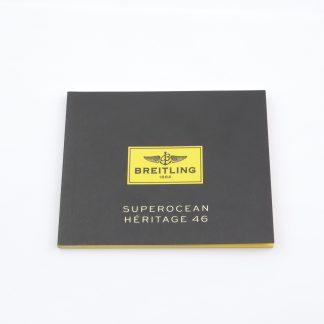 Breitling Superocean Heritage 46 Instructions Manual Booklet