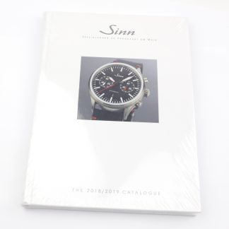 Sinn Watches 2018/2019 Catalogue Hardcover Book