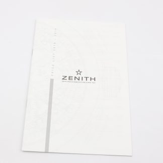 Zenith Price List Booklet 2018-2019