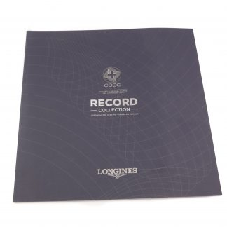 Longines Record Collection Brochure