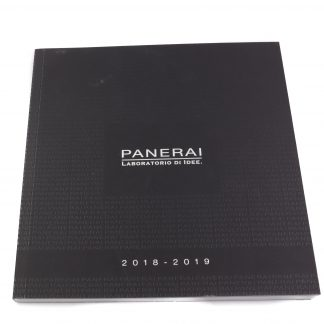 Panerai Laboratorio di Idee Catalogue 2018-2019