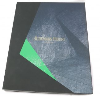 Audemars Piguet 2018/2019 Collection Catalogue in German