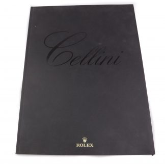 Rolex Cellini Magazine/Catalogue