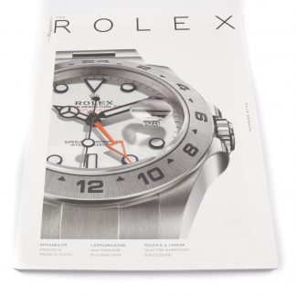 Rolex Magazine Numero Otto (Issue 8) in Italian