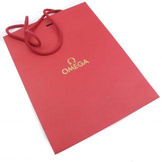 Omega Red Paper Bag