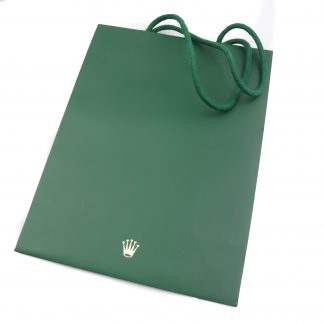 Rolex Green Paper Bag