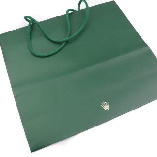 Rolex Green Paper Bag Large