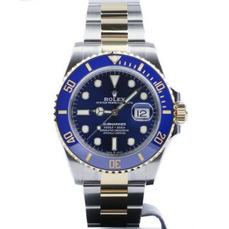 Rolex Submariner Two-Tone Blue Dial 126613LB Unworn 2020