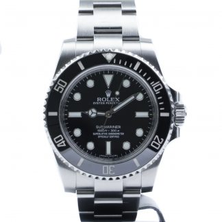 Rolex Submariner No-Date 114060 2015