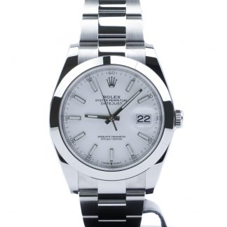 Rolex Datejust 41 126300 Unworn 2020 White Dial