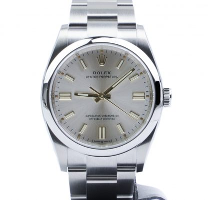 Rolex Oyster Perpetual 36 126000 Silver Dial 2020 Novelty