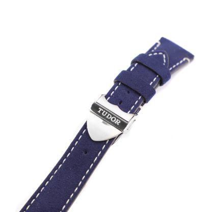 Tudor 58 blue soft touch strap