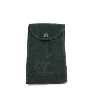 Rolex green travel pouch